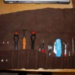 Tool roll - open